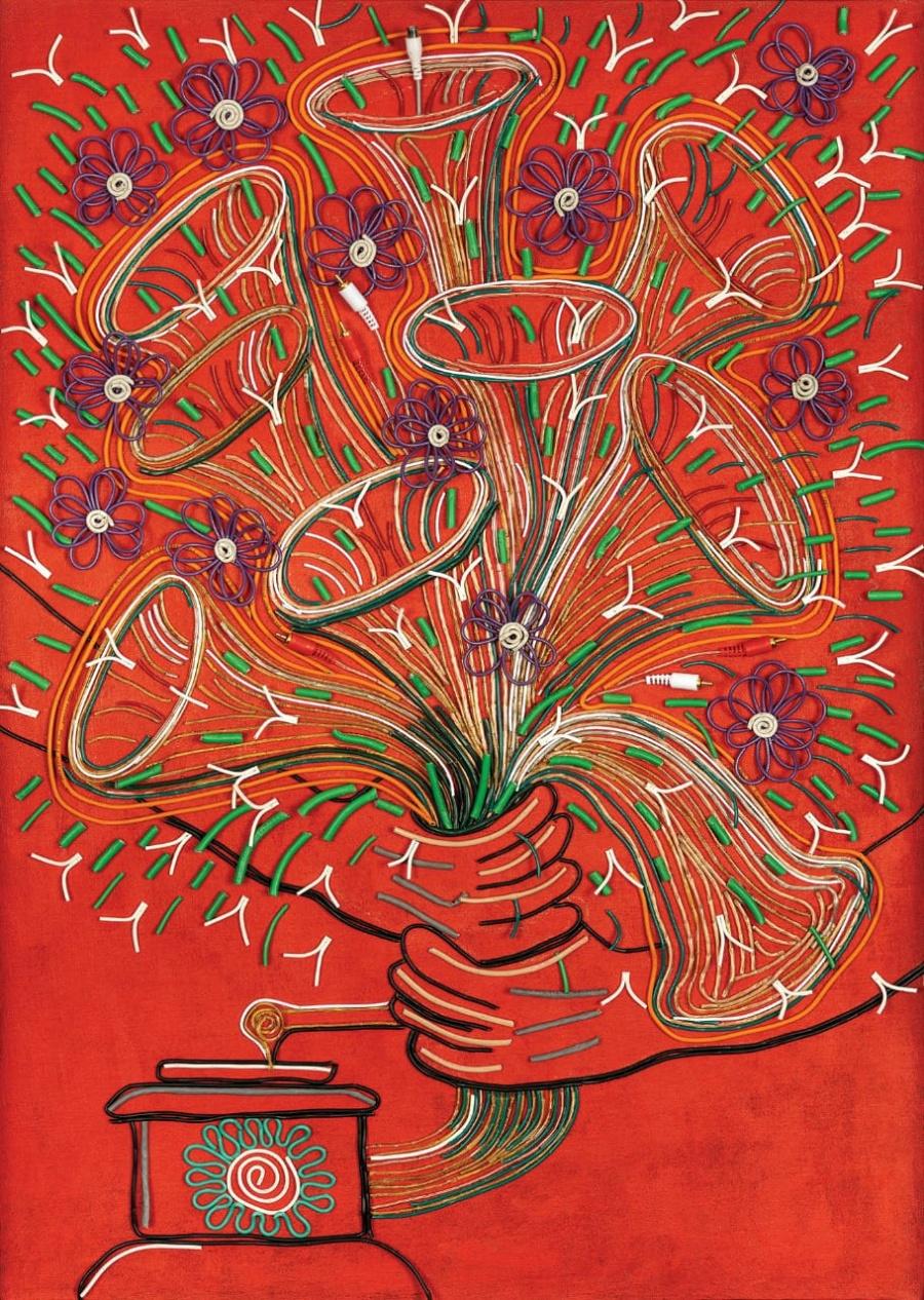 Colombiano Federico Uribe, artista plástico oficial de los premios Latin Grammy