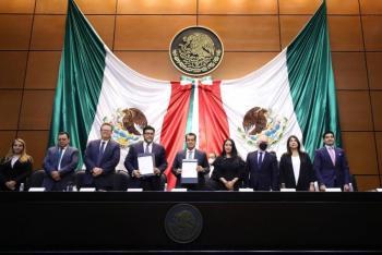 Cámara de Diputados firma convenio de colaboración con el TEPJF