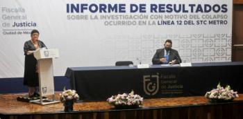 FGJ CDMX investiga a 10 ex funcionarios por colapso de la Línea 12