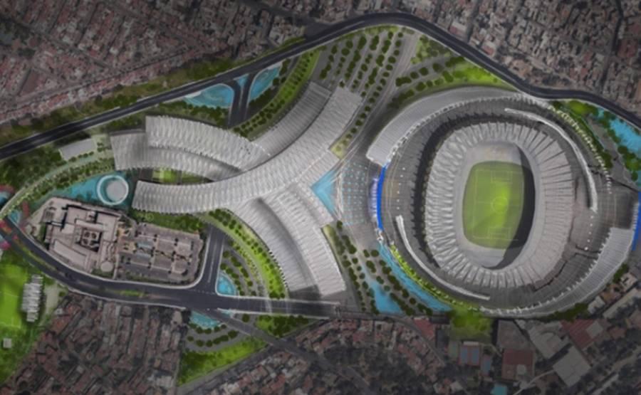 Vecinos se reúnen con autoridades capitalinas por proyecto Estadio Azteca
