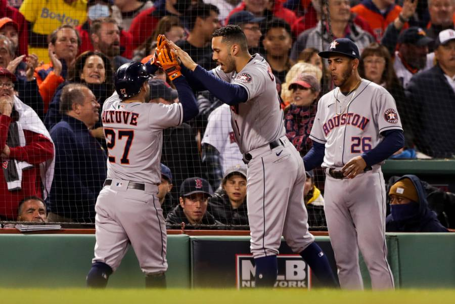 Astros toma ventaja en Campeonato de la Americana con triunfo ante Boston