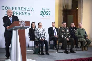 """""""En México ya no existe corrupción"""": AMLO"""