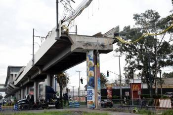 Alistan reconstrucción del tramo colapsado en la Línea 12 del Metro