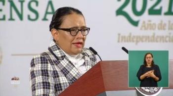 Bajan delitos federales en un 23%, informa Rosa Icela Rodríguez