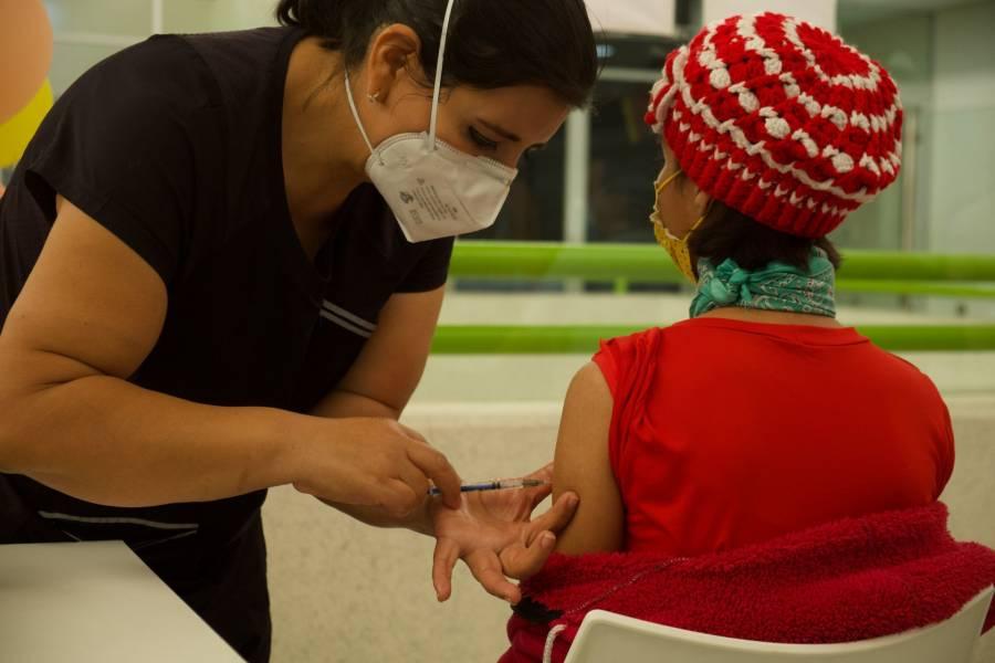 Próxima semana comenzará vacunación contra COVID-19 a menores con comorbilidades en la CDMX