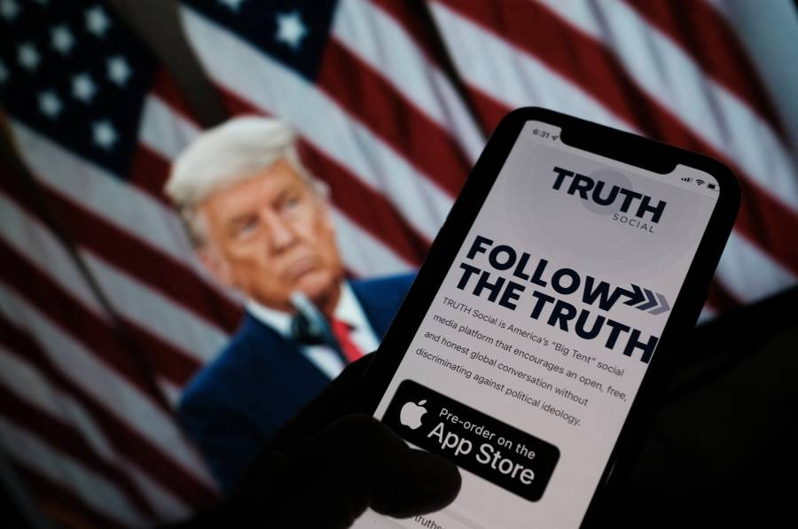 Donald Trump anunció el lanzamiento de su propia red social