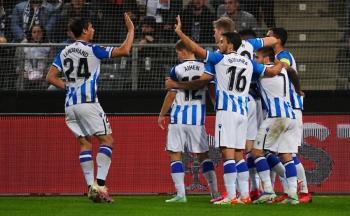 Triunfo de la Real Sociedad y paliza a la Roma de Mourinho