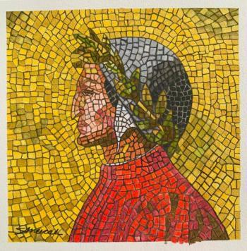 Inaugurarán la exposición Mosaicos para Dante en el Claustro de sor Juana