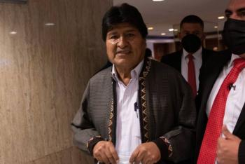 Inaugura Evo Morales en México el Seminario de líderes izquierdistas en América Latina
