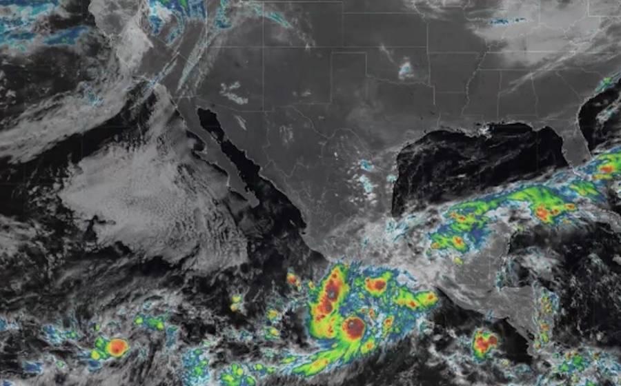 """Tormenta tropical """"Rick"""" se forma entre Guerrero y Colima"""