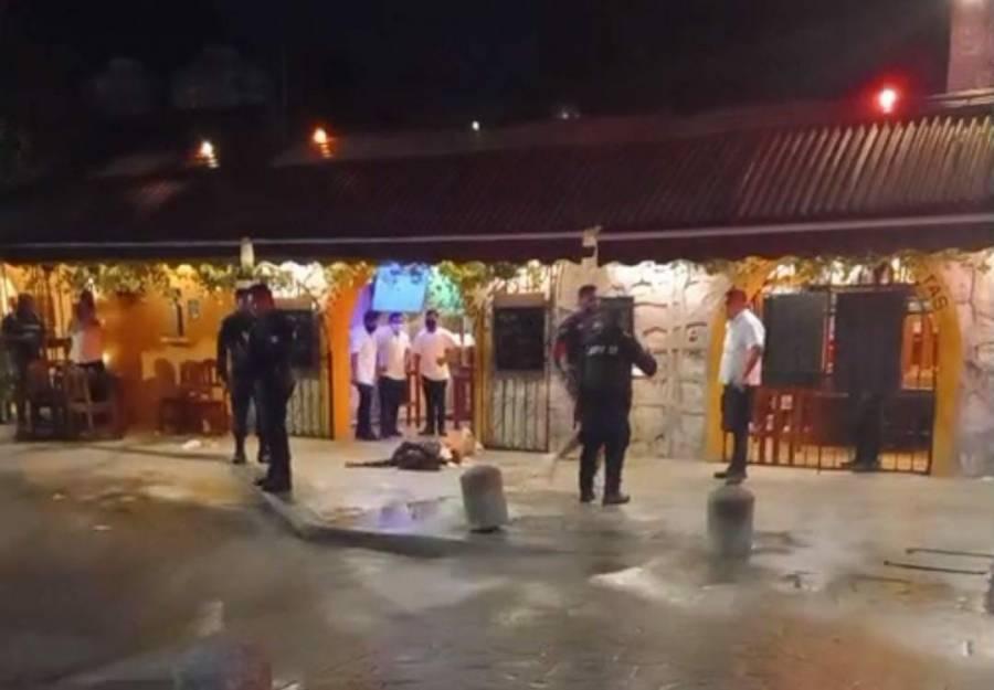 Balacera en Tulum deja como saldo dos turistas muertas