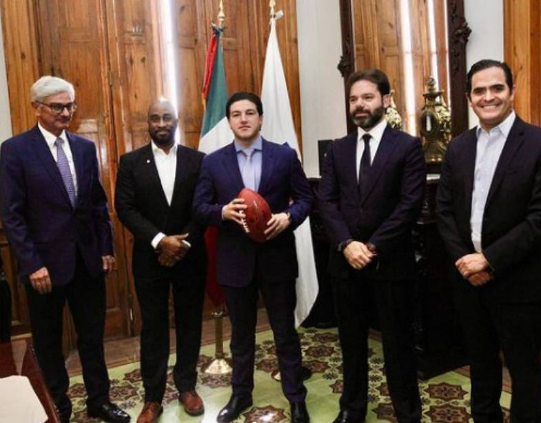 Samuel García informa sobre nuevo estadio de Tigres; recibiría a la NFL