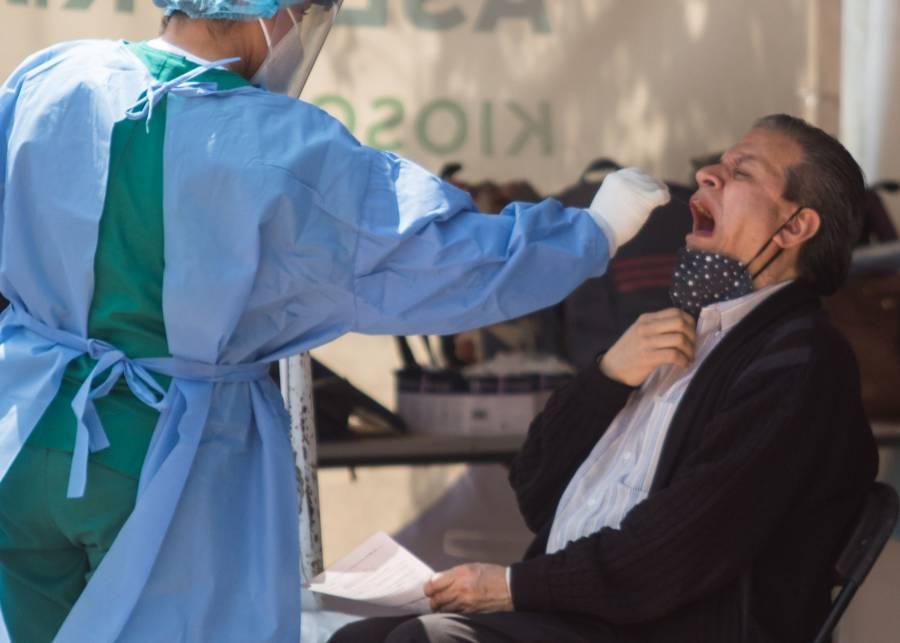 En 24 hrs, México reporta 4 mil 653 nuevos casos de COVID-19