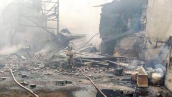 Se registra incendio en una fábrica de explosivos de Rusia