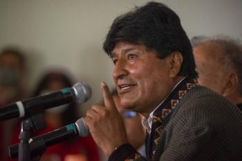 Evo Morales apoya nacionalización del litio en México