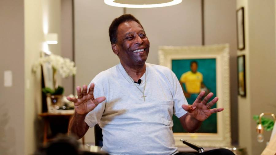 Pelé celebró su cumpleaños; Santos le rinde homenaje