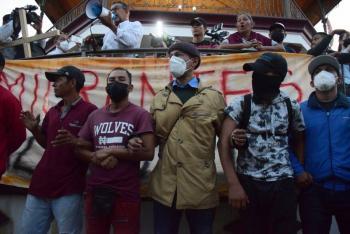 Nueva caravana migrante parte de Chiapas rumbo a la CDMX