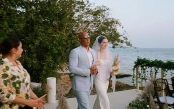 Vin Diesel acompaña a la hija de Paul Walker hasta el altar