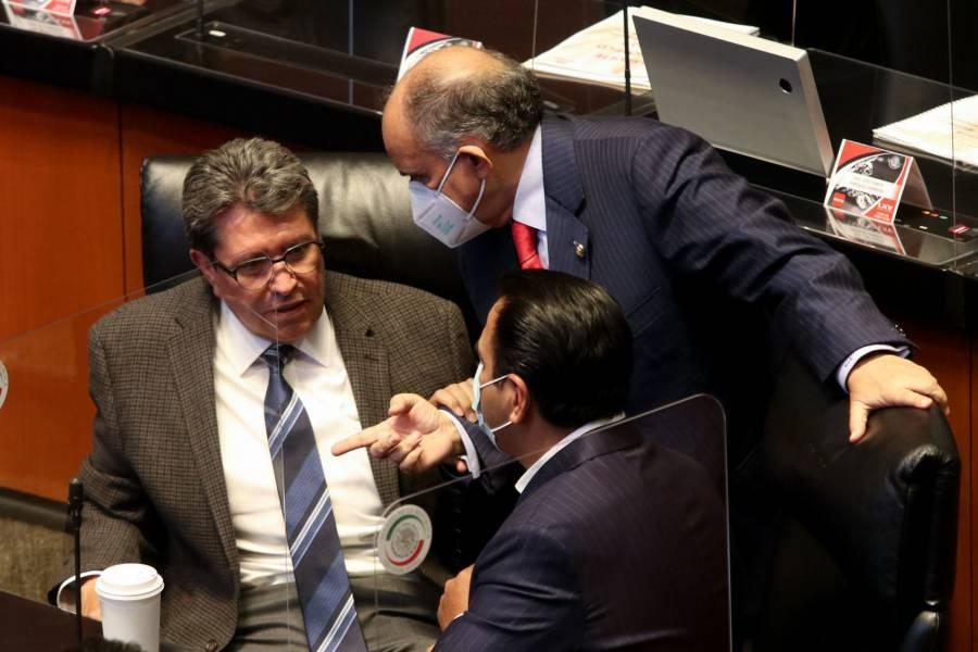 """Reforma eléctrica, """"reina de todas las discusiones"""" en el Legislativo: Monreal"""