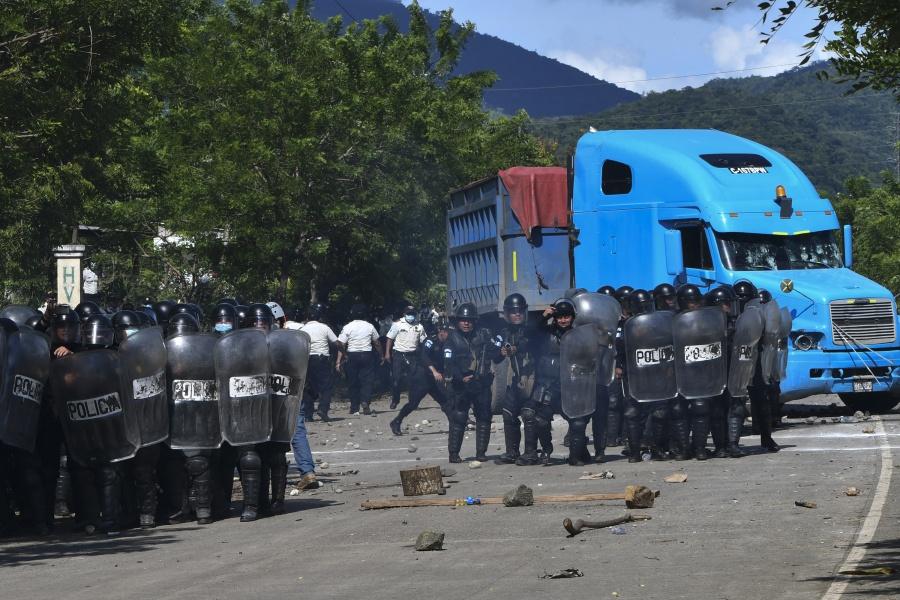 Imponen estado de sitio en El Estor Izabal, poblado cercano a ciudad de Guatemala