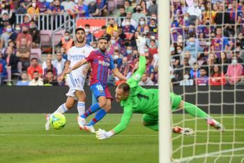 El Real Madrid se lleva el Clásico español ante un Barcelona sin Messi