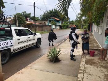 Por huracán Rick, Guardia Nacional implementa plan GN-A en su fase preventiva en Guerrero, Michoacán y Colima