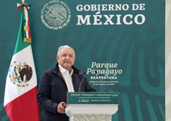 AMLO promete apoyo a damnificados de sismo en Acapulco