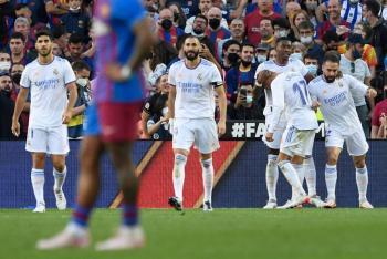 El Real Madrid gana 2-1 en Barcelona en el Clásico de LaLiga