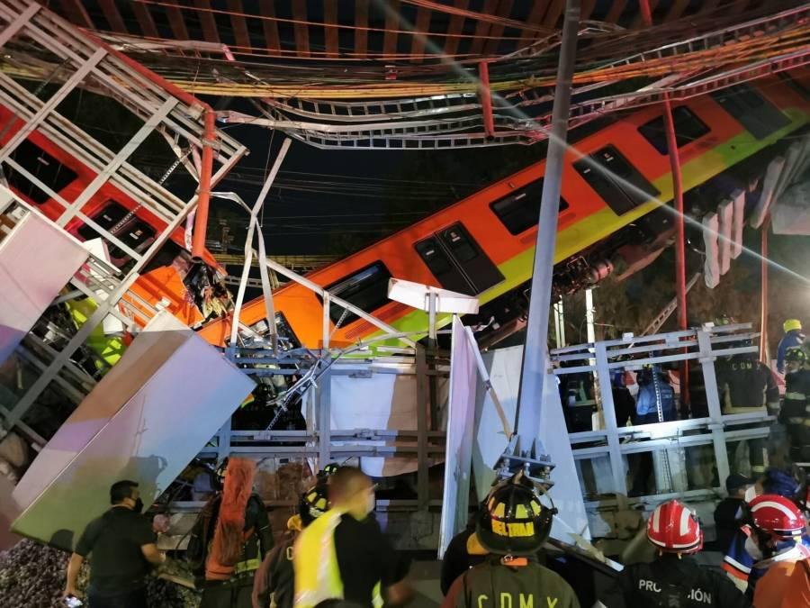 Acuden exfuncionarios a la primer audiencia por colapso en L12 del Metro