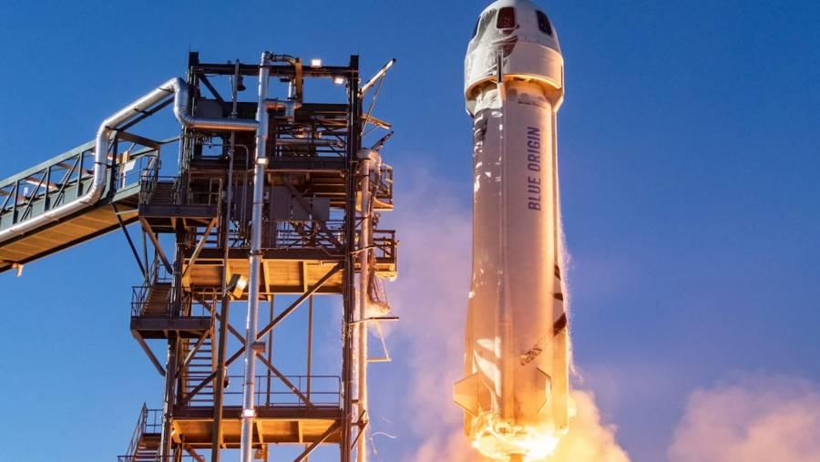Blue Origin anuncia planes para lanzar una estación espacial privada
