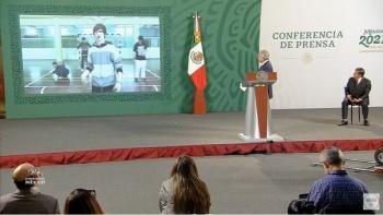 """AMLO pone """"rola"""" de Calle 13 en la """"mañanera"""" en respuesta a críticas de Irma Eréndira Sandoval"""