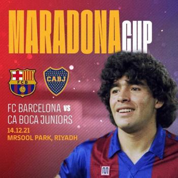 Boca Juniors y Barcelona se enfrentarán como homenaje a Maradona