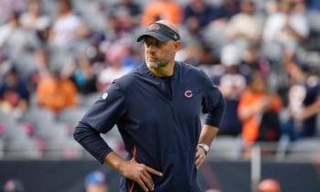 NFL: entrenador de los Chicago Bears da positivo a Covid-19