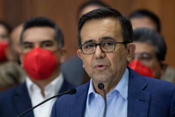 Ildefonso Guajardo lamenta debilitamiento de presupuesto a Secretaría de Economía