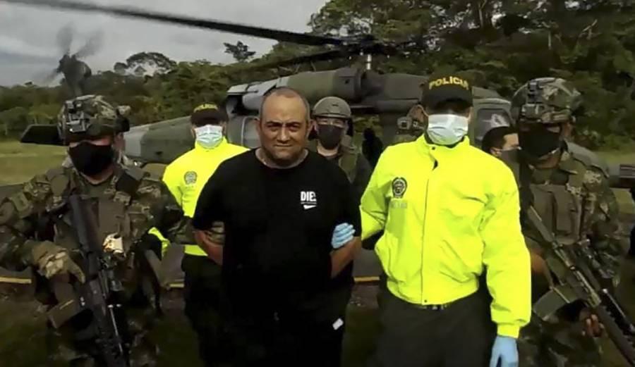Mueren cuatro militares en represalia por captura de Otoniel, jefe del narcotráfico colombiano
