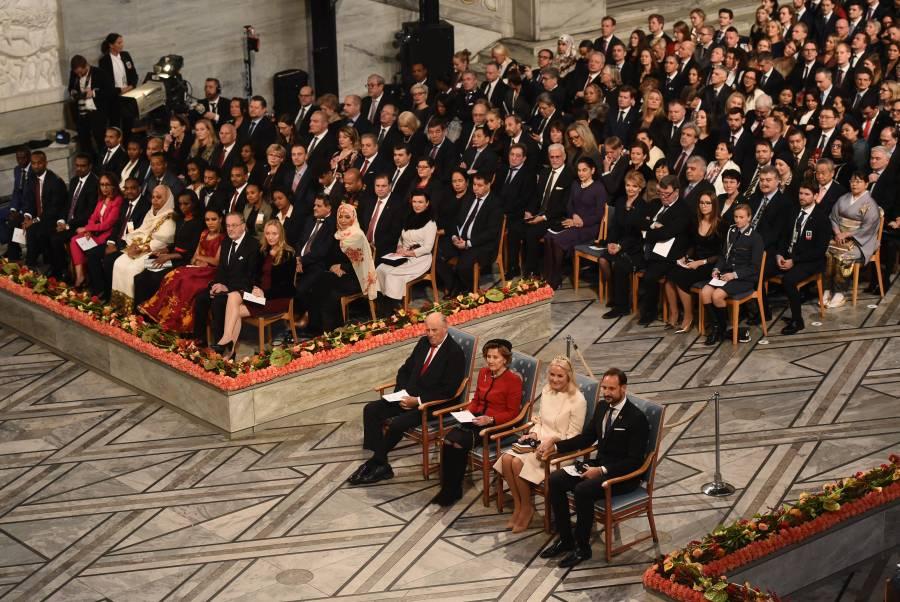 Ceremonia del Nobel de la Paz será presencial