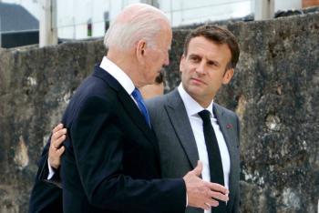Joe Biden y Emmanuel Macron se reunirán en Roma para reparar relaciones