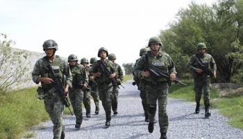 Despliegan 450 elementos de las Fuerzas Armadas en Tulum