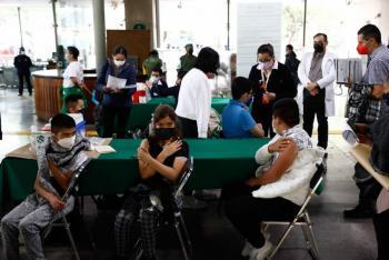 Más de 5 mil menores con comorbilidades fueron vacunados contra COVID-19 en la CDMX
