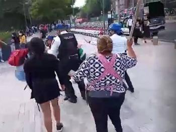Secgob condena agresión a funcionaria pública