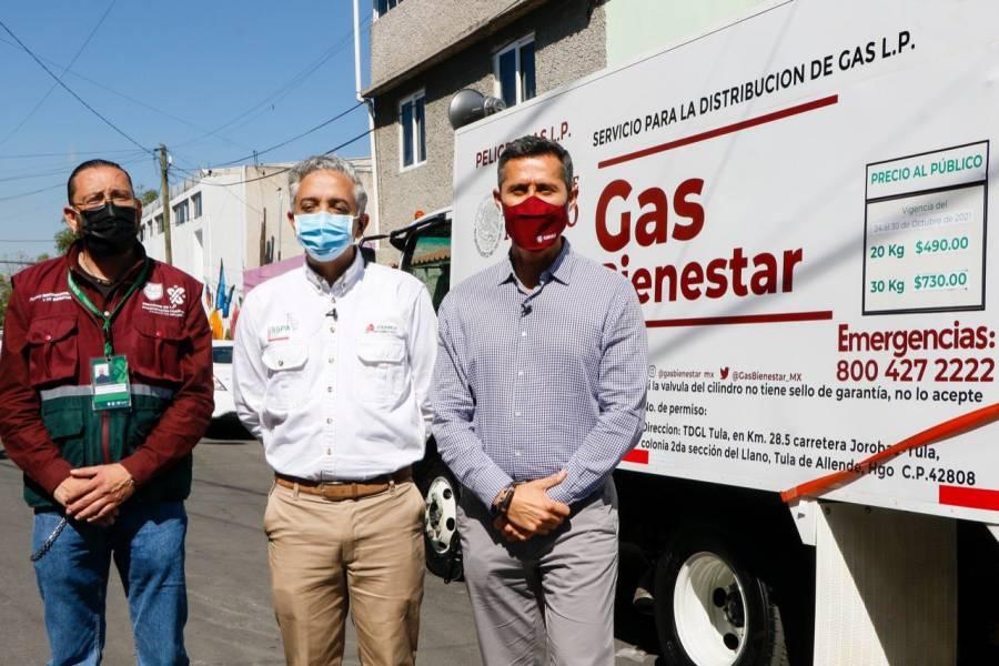 Gas Bienestar alista app para ubicar camiones repartidores