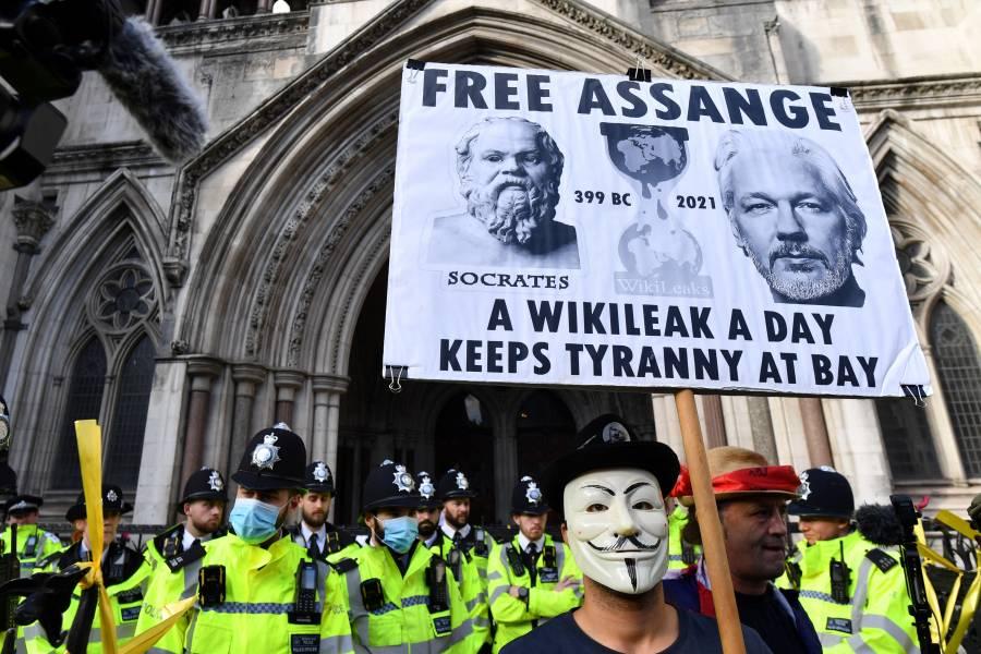 EEUU pide a Corte Suprema de Gran Bretaña extradición de Assange