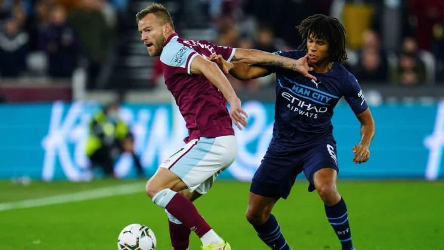 El Manchester City fue eliminado en Copa de la Liga por West Ham