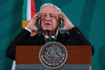 """""""UNAM es una gran Universidad"""", dice AMLO, pero reitera que en un momento lo humano le fue ajeno"""