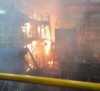 Reportan flamazo en planta de Altos Hornos de México; deja 11 lesionados