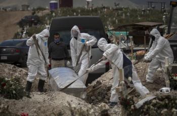 INEGI: Covid-19 la segunda causa de muerte durante 2020