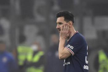 Lionel Messi es duda contra el Lille por un problema muscular