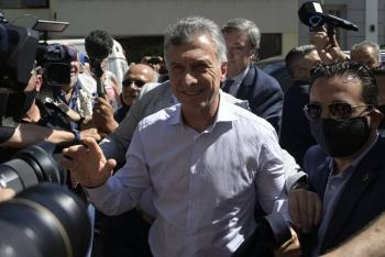 Justicia argentina suspende audiencia de expresidente Macri por supuesto espionaje