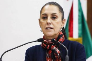 "Claudia Sheinbaum tacha de ""hipócritas"" a conservadores que defienden a la UNAM"