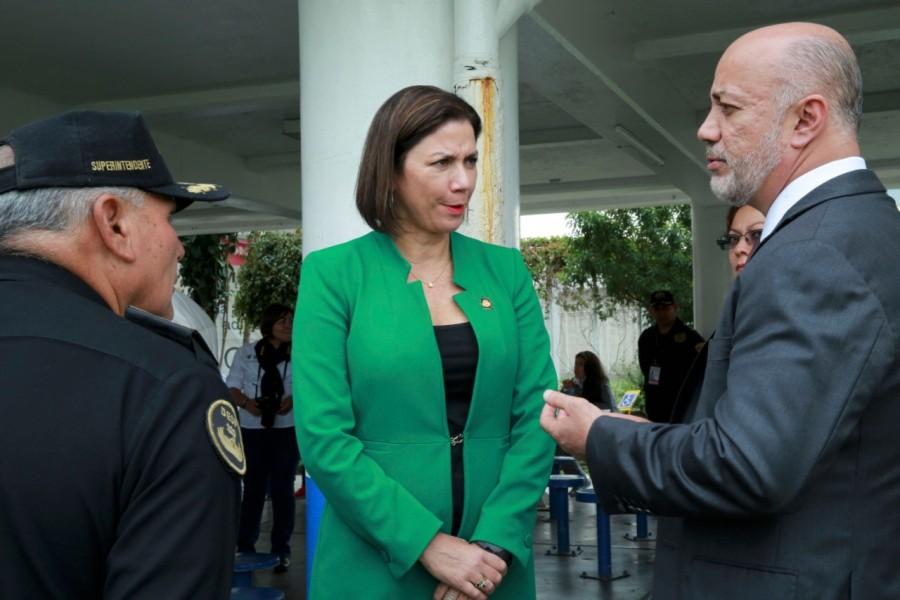 Comitiva de Costa Rica visita centros penitenciarios en CDMX